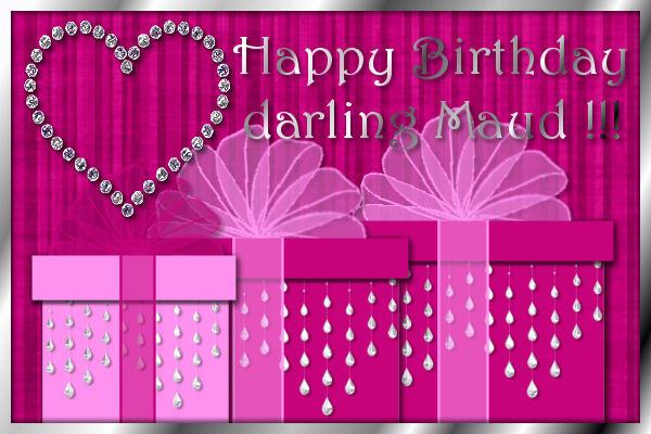 grattis på födelsedagen vännen Maud Dickson födelsedag grattis på födelsedagen vännen