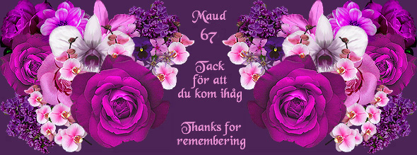 grattis på födelsedagen syster Maud Dickson födelsedag grattis på födelsedagen syster