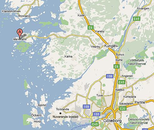 karta göteborg marstrand Marstrand karta göteborg marstrand